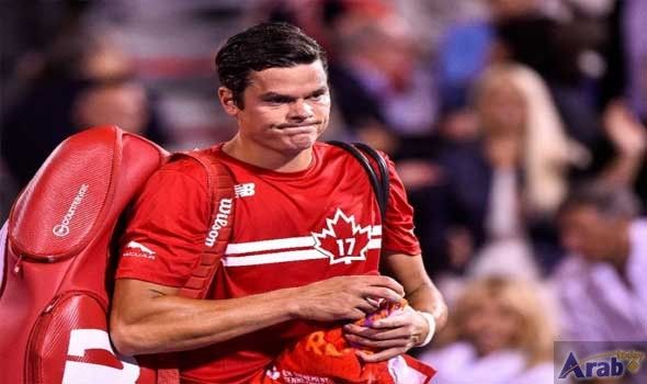 Tennis - Raonic out of US Open with wrist injury