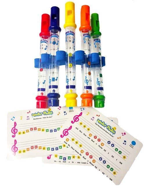 SensoryTools.net Australia - Water Flutes - 5 pack
