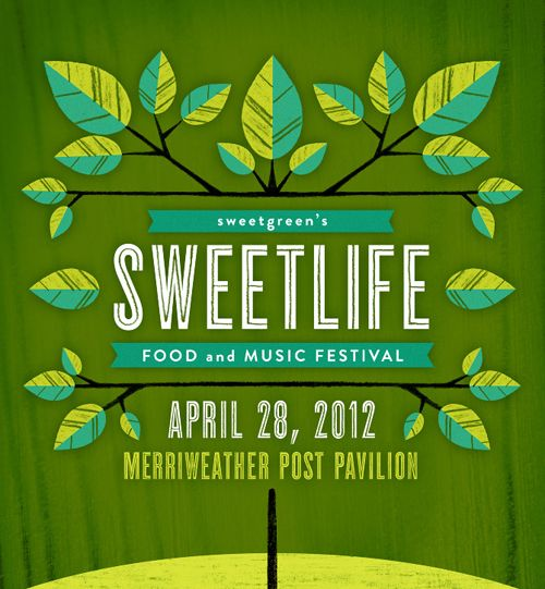 SWEETLIFE Food & Music Festival - Sara Wood Design & Illustration
