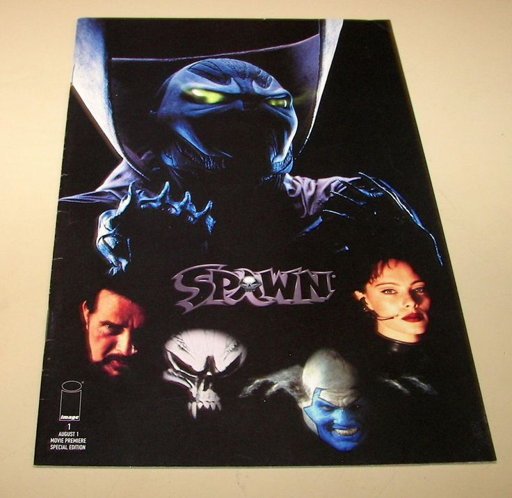 65) Spawn the Movie Premier # 1, 1997, approx. grade: NM- 9.2!