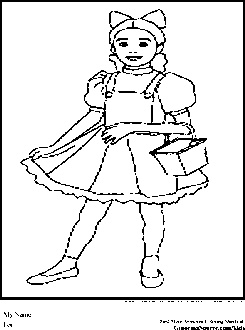 wizard of oz coloring pages dorothy