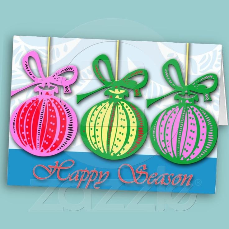 Happy Season greeting card