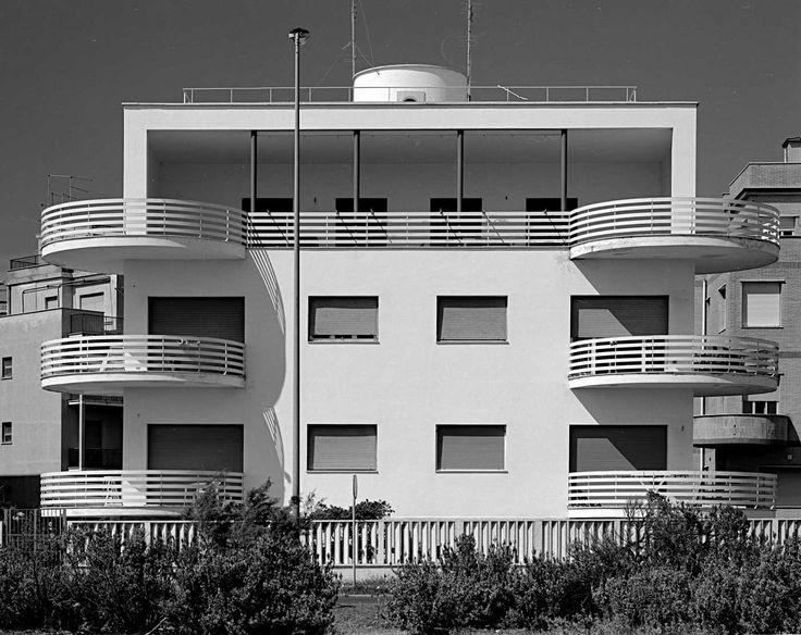 Palazzine ad Ostia - Adalberto Libera, foto Moreno Maggi