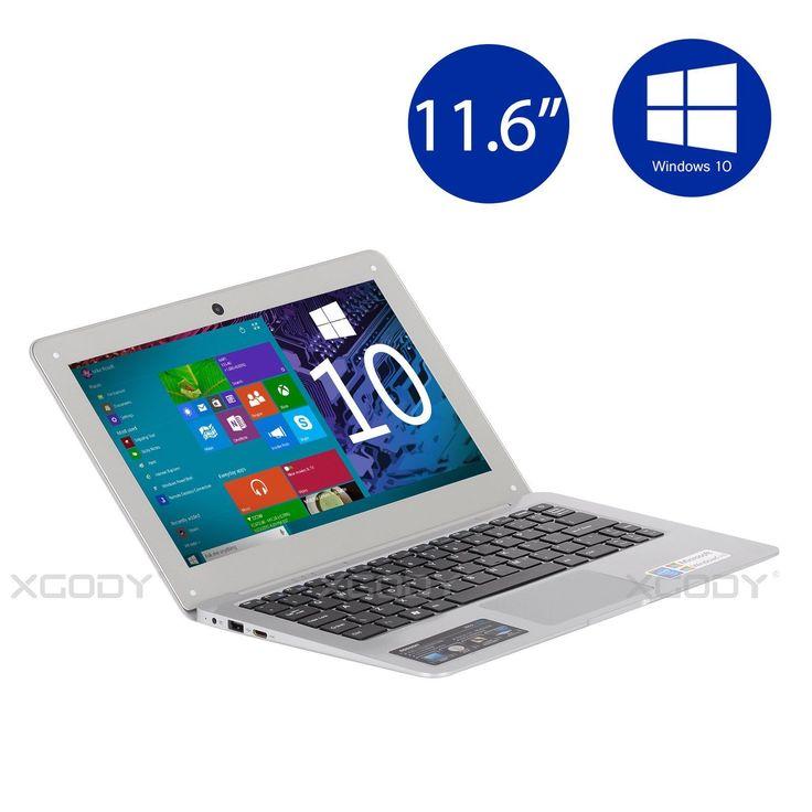 "Newest 11.6"" Windows 10 Intel Quad Core 32GB Laptop Bluetooth 4.0 WIFI SOSOON"