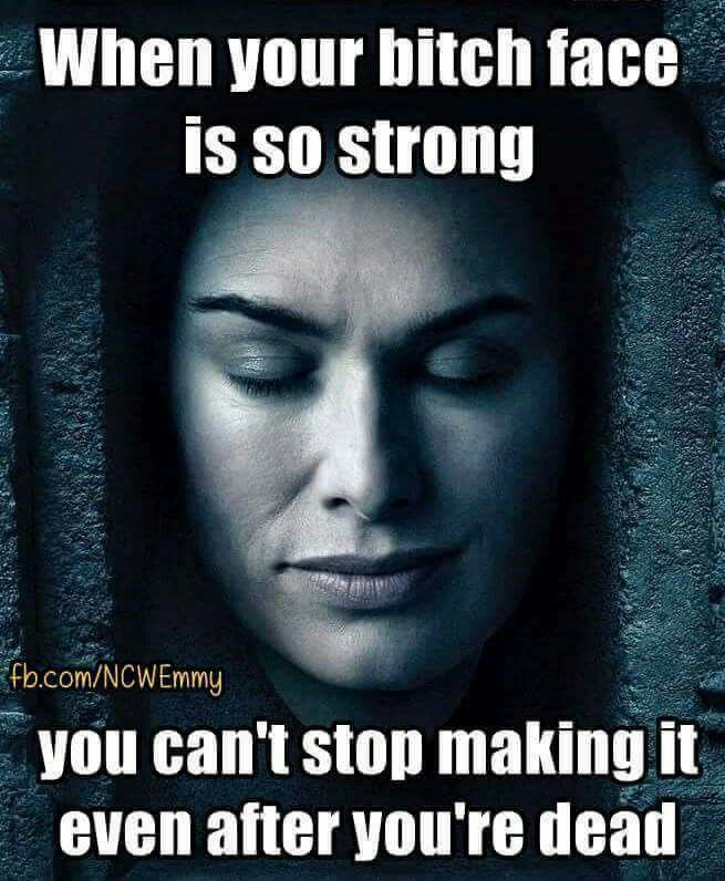 Game of Thrones funny humour memes. Cersei Lannister, Lena Headley