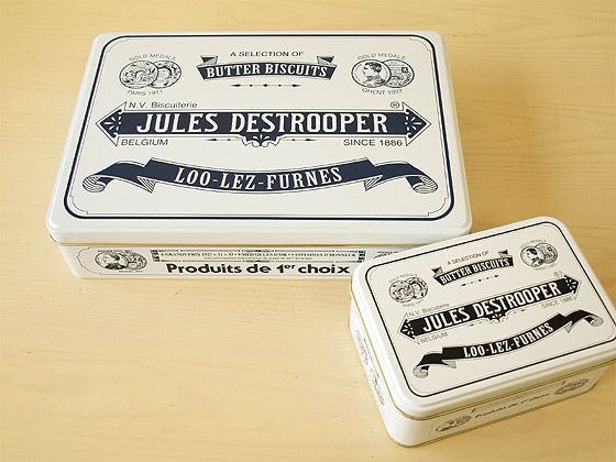 ジュールス・デストルーパー レトロ缶 クッキー