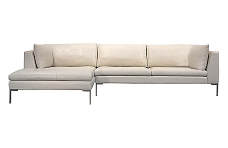 "I just bought this in a 90"" sofa configuration.  White/lightest ivory leather.  So comfortable.Whitelightest Ivory"