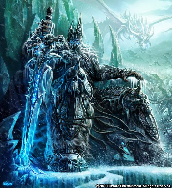 WoW Lich King - Glowei