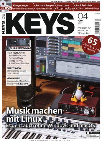 #Musikmachen mit #Linux 🎹 🐧 Es geht auch ohne Windows und macOS  Jetzt in @keysmagazin:  #Musikproduktion #Mischen