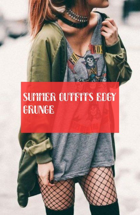 summer outfits edgy grunge | sommer-outfits nervös grunge #summer #outfits #edgy #grunge 2020