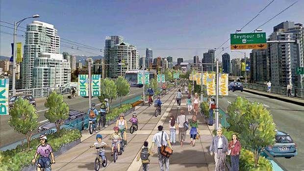 Vancouver, BC. Bike rambla?