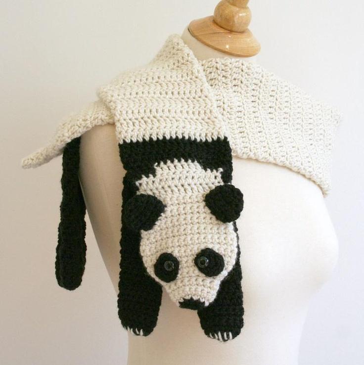Crochet Pattern Panda Hat : 17 Best images about crochet hats I want made on Pinterest ...