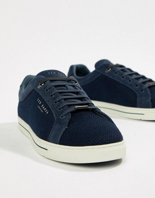 bb944b20a7c33a Ted Baker Werill trainers in navy