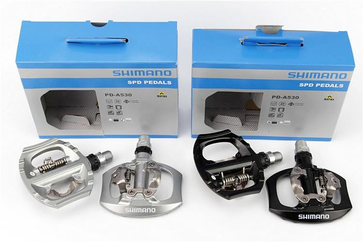 SHIMANO Genuine PD-A530 pedal road bike clipless pedals mtb bicycle pedal free ship cycling bike mtb pedals free ship