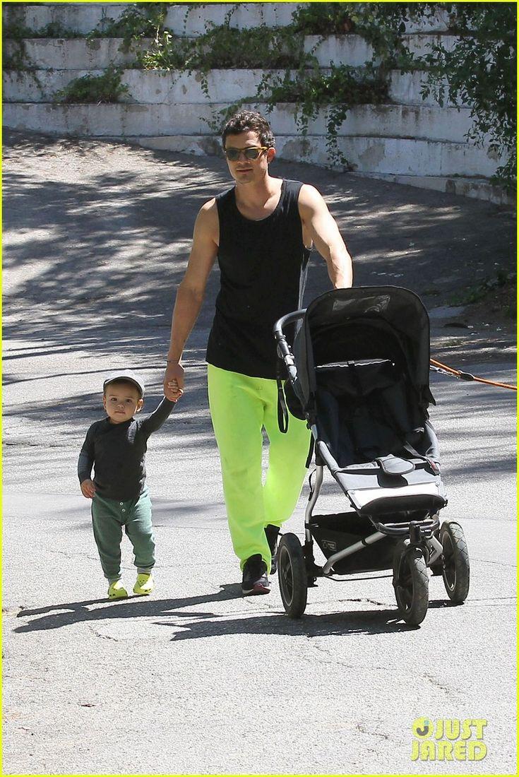 Orlando Bloom & Flynn: Father's Day Fun!