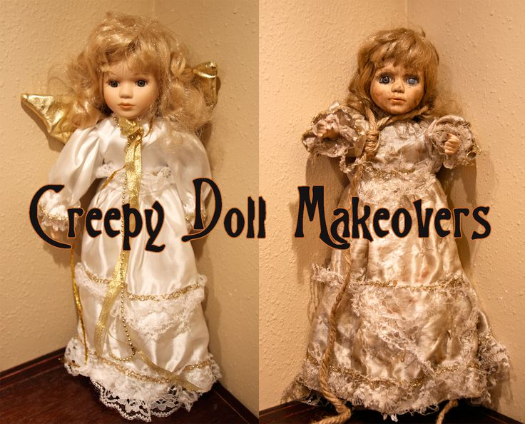 By popular request, here's a quick tutorial for my Creepy Doll Mobile!
