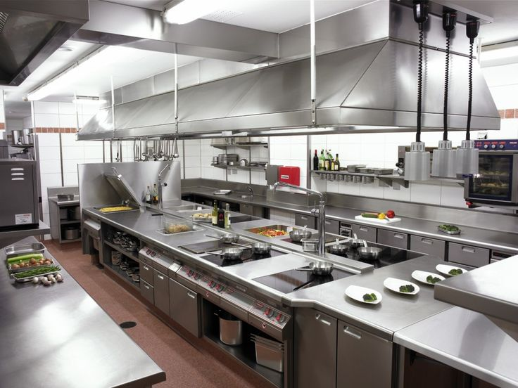Commercial Kitchen Exhaust System Design Alluring 94 Best Horeca Kitchen Images On Pinterest  Industrial Kitchens Inspiration