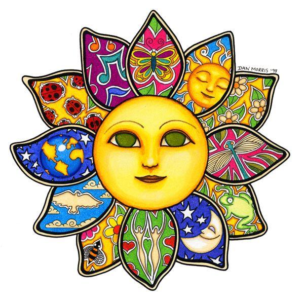 Sun Flower by Dan Morris