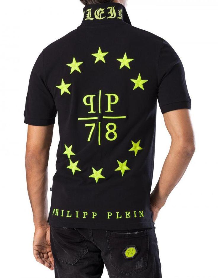 PHILIPP PLEIN T-SHIRT polo SHAPE