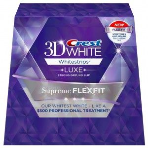 Free Sample Crest 3D White Strips