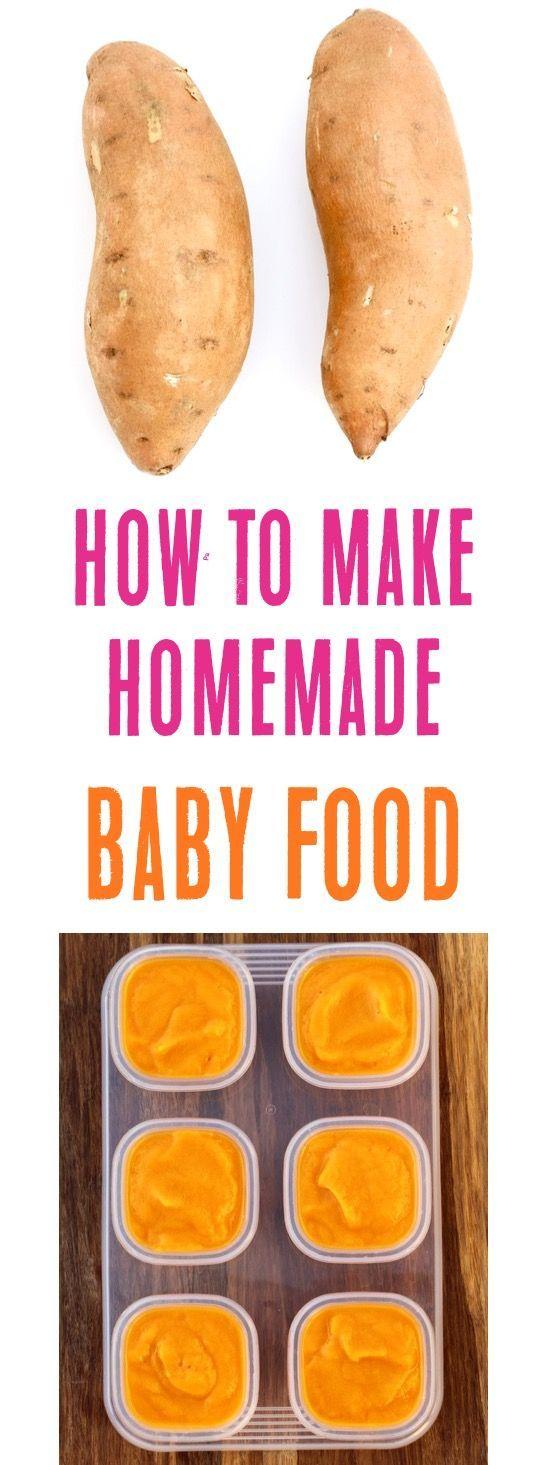 Babynahrungsrezepte Stufe 1! Dieses einfache Rezept für Süßkartoffeln für Babys ist so einfach …   – Baby Food