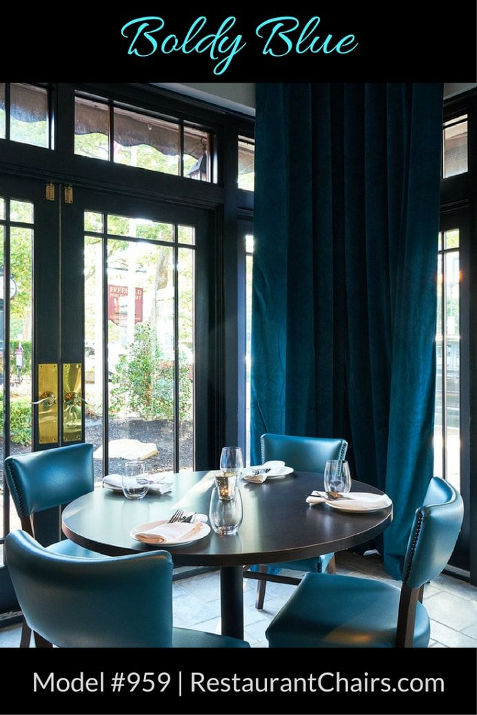 Aarzu Restaurant In Freehold, NJ Has Gone Bold And Blue With Their  Restaurant Interior Design