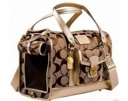 coach pet carriers for small dogs | Coach Dog Travel Carrier Bag