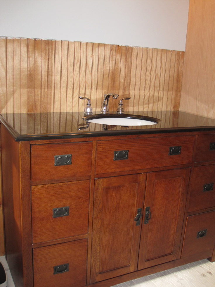 New Vanity Mission Style For The Home Pinterest Vanities