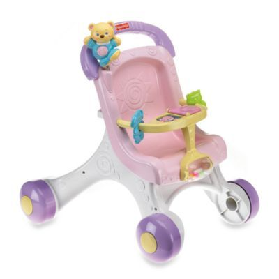 Fisher-Price® Brilliant Basic™ Stroll-Along Walker™ - buybuyBaby.com