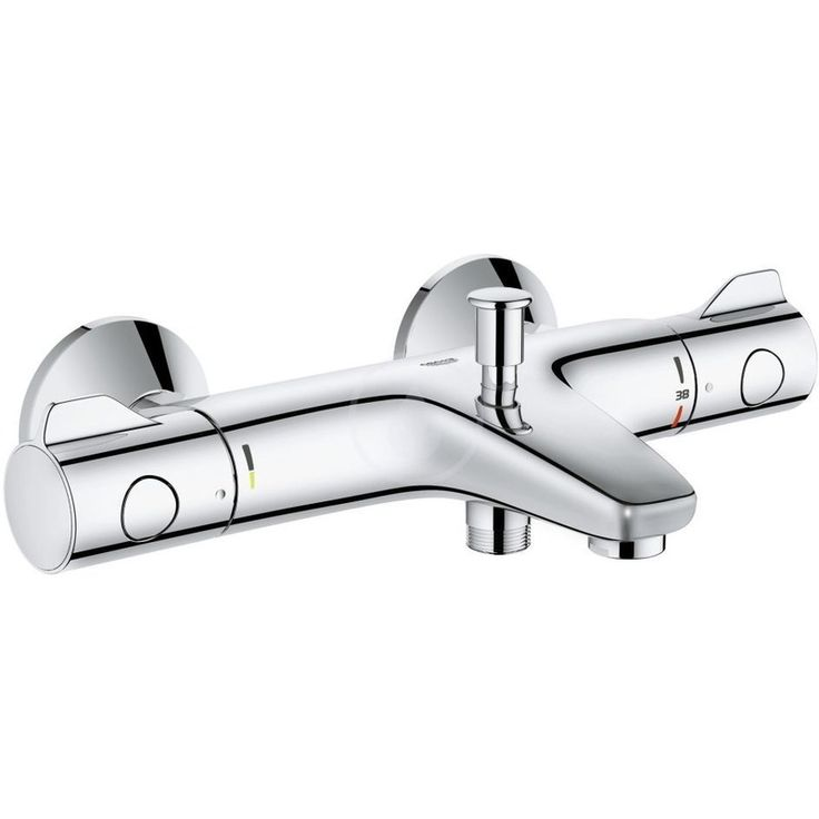 "Grohtherm 800 Mitigeur thermostatique bain/douche 1/2"" (34567000) - Plomberie sanitaire chauffage"