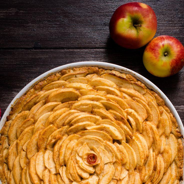 Apfelkuchen mit Mürbeteig