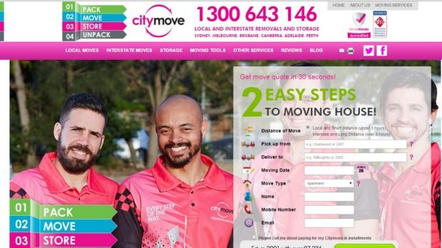 Citymove paid penalties after being issued with infringement notices by the ACCC. Photo: Supplied