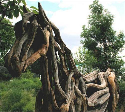 Driftwood Horses by Heather Jansch 07