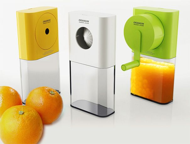 Crank me up orange citrus squeezer.  genial