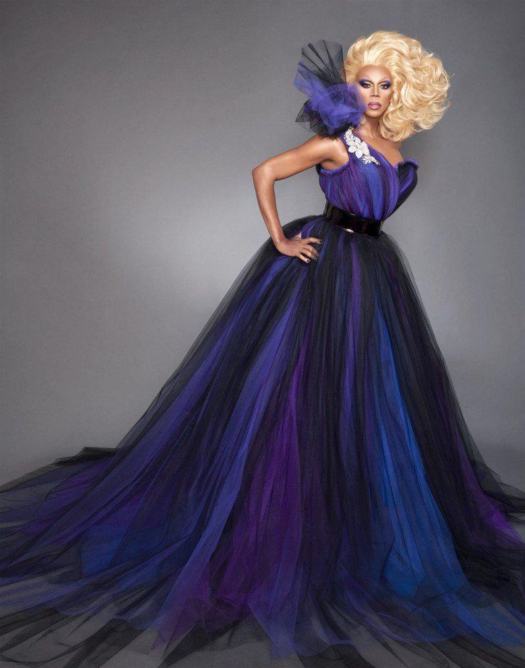 RuPaul - That moment when there's a real danger of your dress swallowing you.