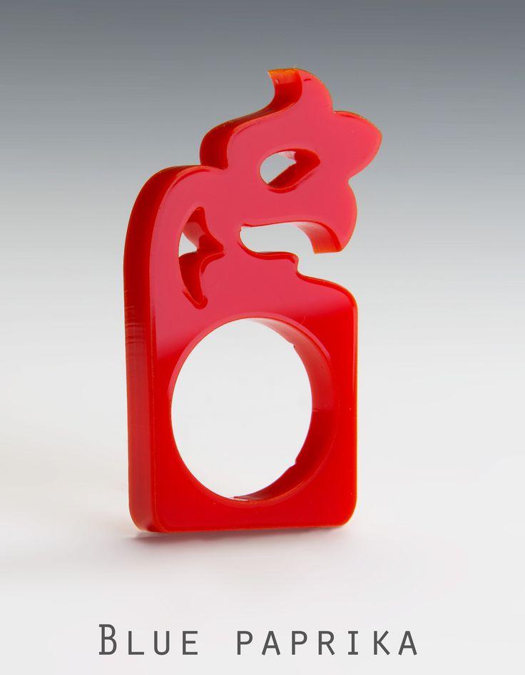 piros - Blue - paprika gyűrű :)