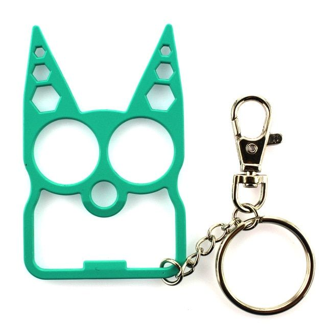 Newly Portable Cute Cat Opener Screwdriver Keychain Self Defense