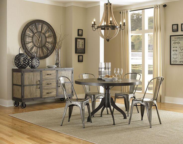walton round dining room set