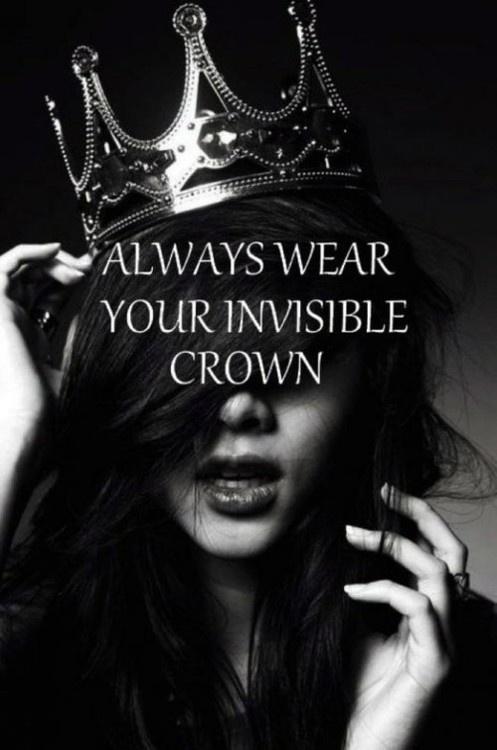 Lleva siempre tu corona invisible!!