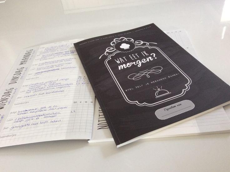 De planner/agenda/dagboek waarin je al je maaltijden kunt noteren inclusief voedingswaarden. Ideaal voor mensen die op dieet zijn of gaan en niet goed overweg kunnen met de daarvoor bestemde apps.