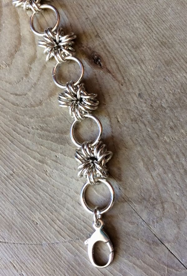Sterling Silver Petite Chainmail Bracelet  Take a closer look: http://etsy.me/1P8qoha
