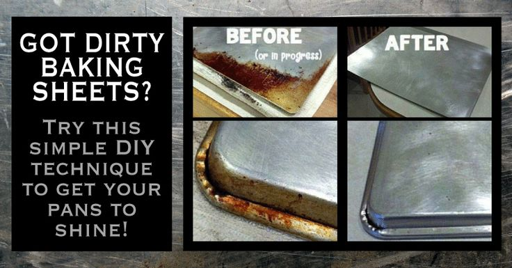 25 Best Ideas About Clean Baking Sheets On Pinterest