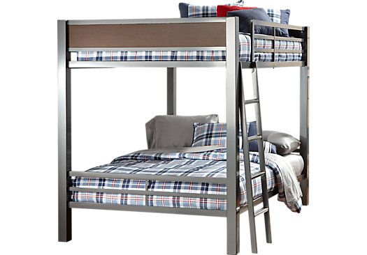 Shop for a louie full full bunk bed at rooms to go kids for Rooms to go kids outlet