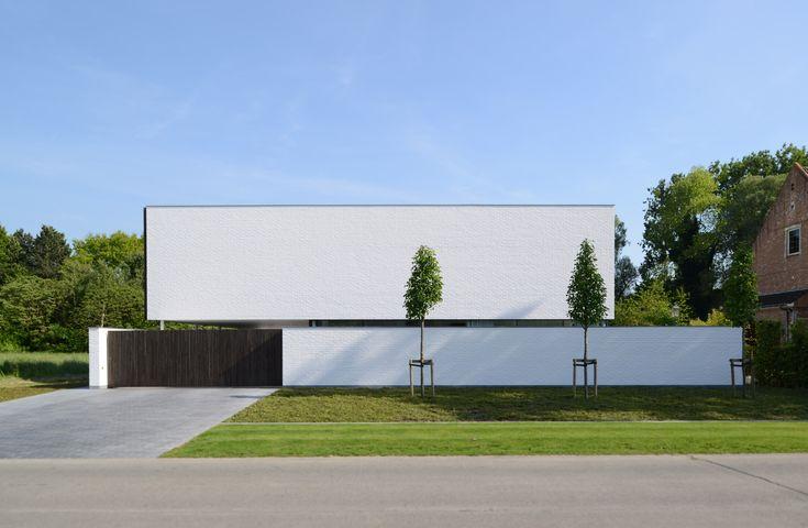 Villa GFR / DE JAEGHERE Architectuuratelier