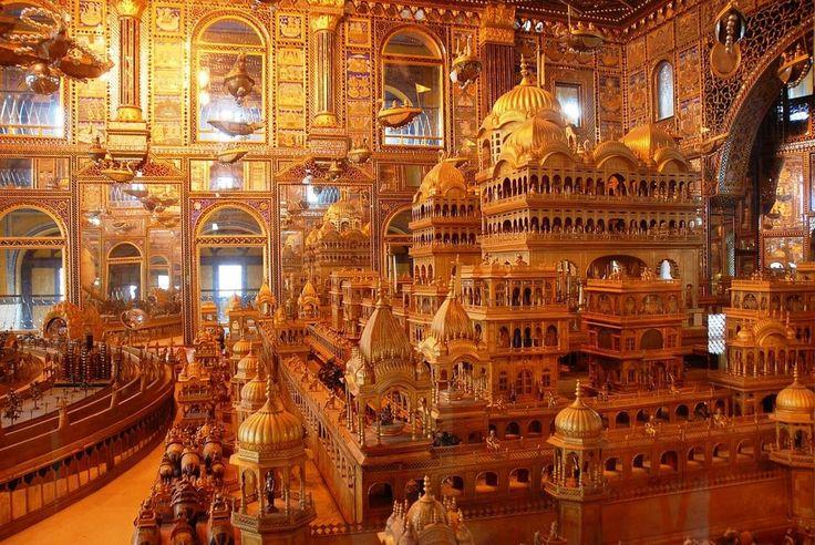 1000 കിലോഗ്രാം സ്വർണത്തിൽ തീർത്ത അയോധ്യ എന്ന വിസമയം കാണാം ഈ ക്ഷേത്രത്തിൽ