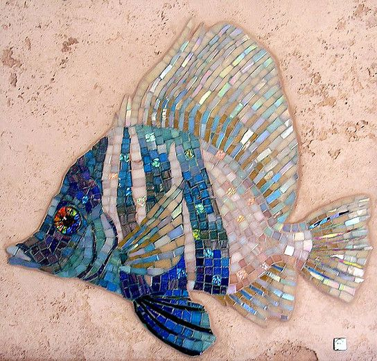 32 Best Mosaic Fish Images On Pinterest Mosaic Animals