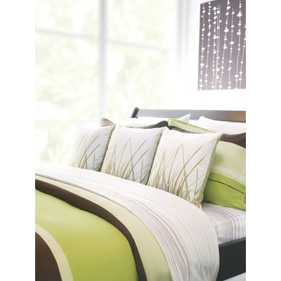 Inhabit Nourish cotton bedding collection in #grass #Coupon