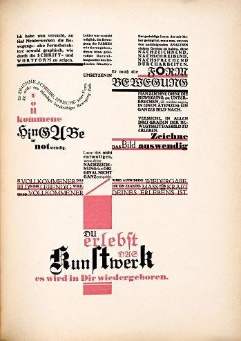 by Johannes Itten and Friedl Dicker – 1921