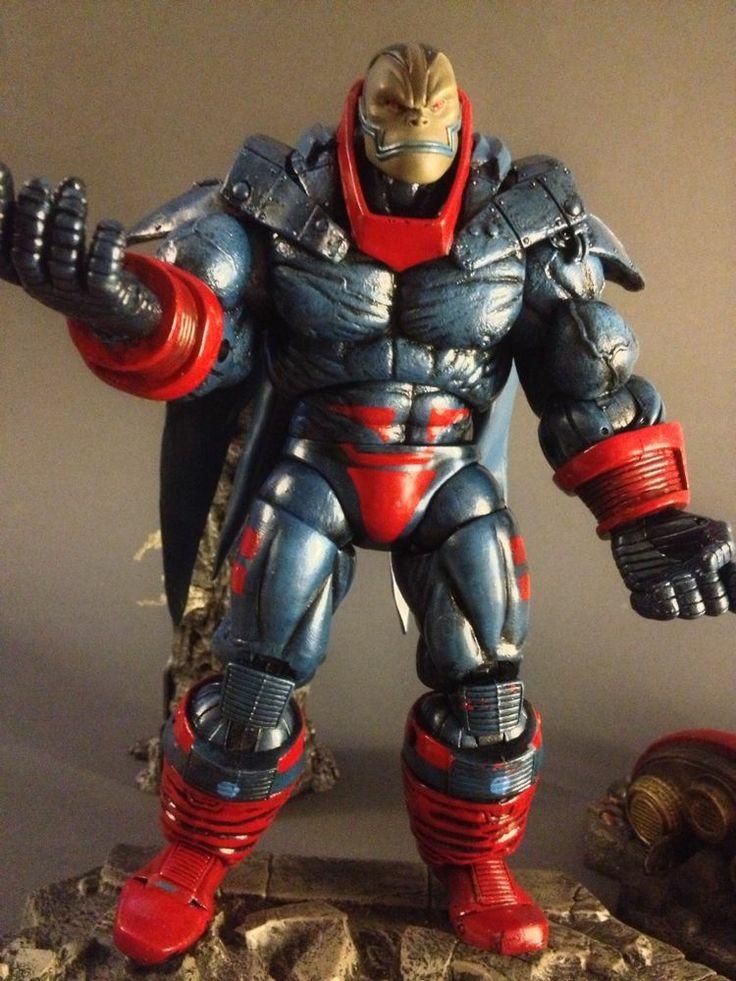 Marvel legends custom AoA Apocalypse,Select,DC Universe,Direct,