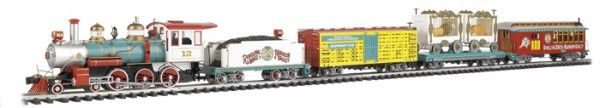 Famous Ringling Bros. & Barnum & Bailey Circus Partners With Bachmann Trains